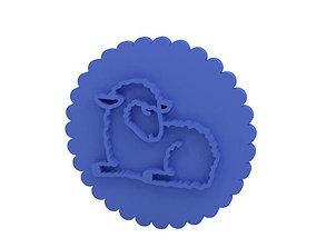 3D printable model Cookie stamp Stamp easter