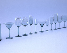 Glassware 3D printable model