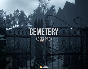 Cemetery Pack - All Formats 3D model
