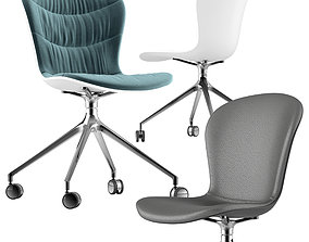 3D Boconcept-adelaide chair lather