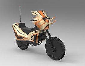 Bike from movie Megaforce 1982 3D model