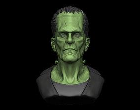 Frankenstein 3D gravestone