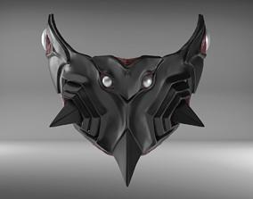 3D printable model Bio Armor III Custom Mask Fan Art