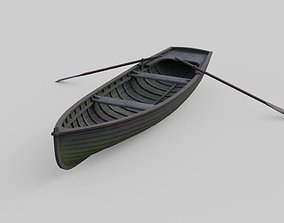 3D asset Rowboat 1A