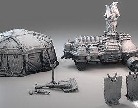 Dwarf camp kit 3D printable model
