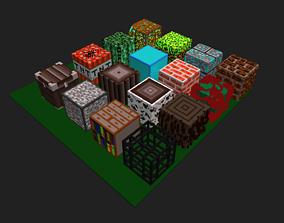 3D model Cube voxel