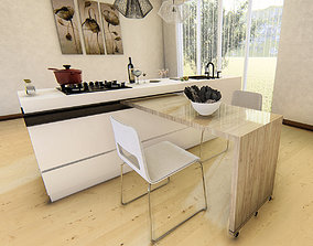 3dnikmodels kitchen Counter 11