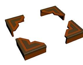 hand Frame corner model with detail