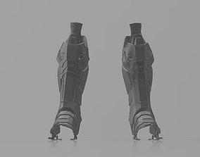 Batman Arkham Knight Shin armor 3D print model