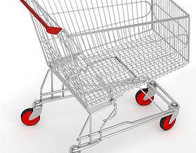Supermarket cart 3D
