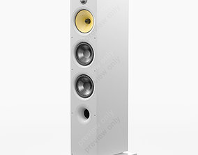 3D model Bowers and Wilkins 683 S2 White