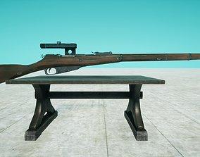 Mosing Nagant Sniper 3D model