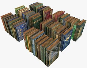 3D model Old Books Collection 2