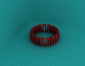 Wristring 001 3D printable model