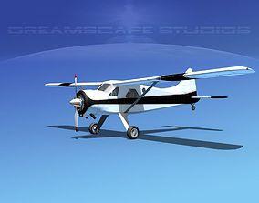 3D Dehaviland DH-2 Beaver SL01