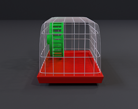Hamster Cage 3D model realtime