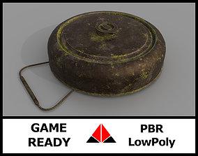 Landmine 3D asset realtime