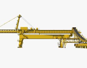 3D model Industrial Machine 003