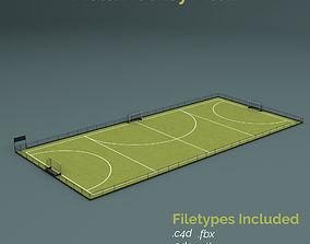 3D model Field Hockey Training Pitch