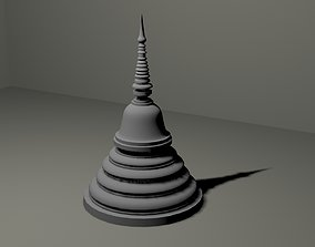 3D asset Buddhist Chaithya Sri Lanka