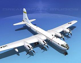 3D Boeing TB-50 Superfortress II