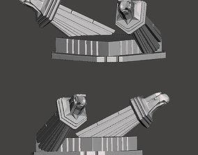 Predator 2 City Hunter - Custom Diorama Base - 3D Model