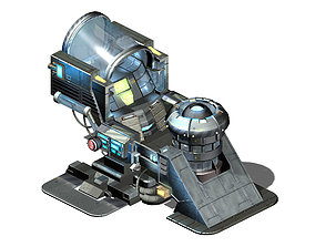 3D Functional mechanical object 08