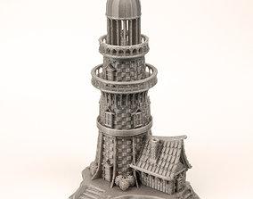 MEDIEVAL LIGHTHOUSE 3D print model