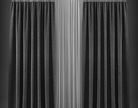 Curtain 3D model 235 game-ready