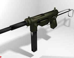 3D Submachine Gun - M3a1 Grease Gun