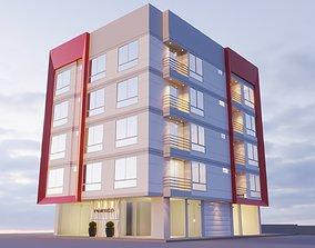 Building 5 floor 3D model