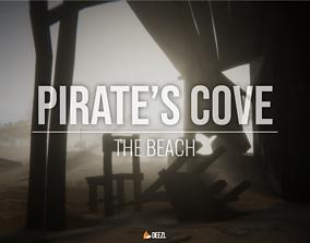 3D asset Pirate s Cove - The Beach