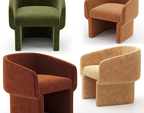 3D model Jessie Accent Chair