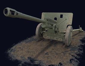 ZIS-3 Game Ready 3D model