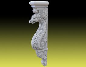 3D print model Draco baluster