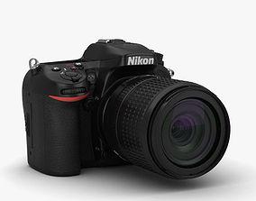 3D model Nikon D7100