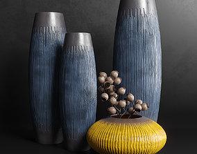 3D other Vases Set 6