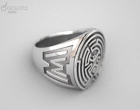 3D print model WestWorld maze Ring 9s