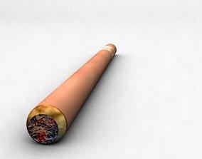 Cigar 3d max model VR / AR ready