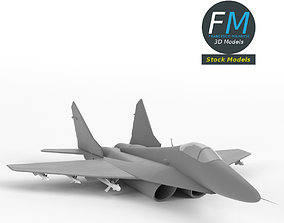 3D model MiG-29 Fulcrum base mesh