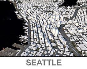 Seattle City 3D model