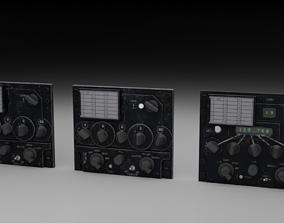 3D model F16 UHF Radio