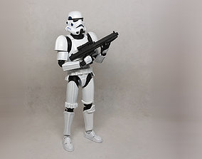 3D print model Star Wars Stormtrooper articulated action