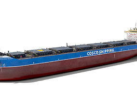 Bulk carrier COSCO 3D model