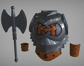 He-Man Battle armor real life 3D print model