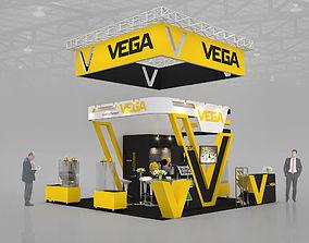 3D Max exhibitions design VEGA bands