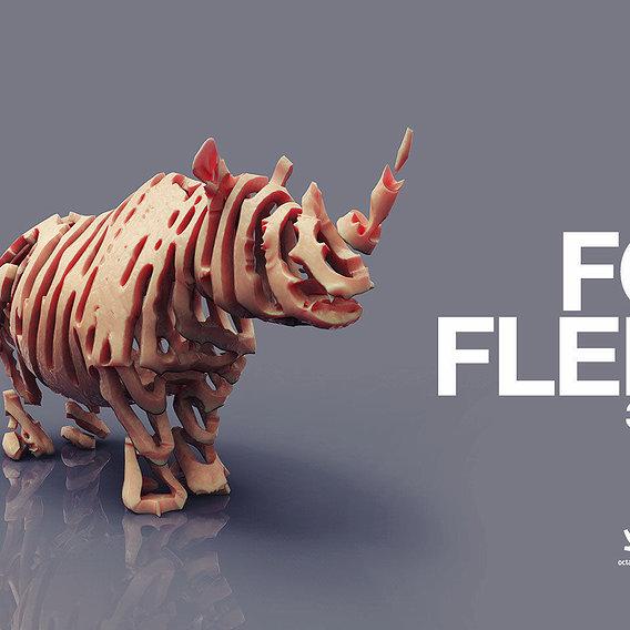 FORM FLEISCH (3D-Art Series)