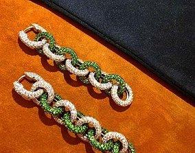 3D printable model Earrings chains