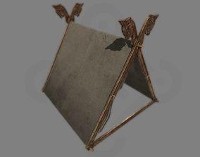 Viking Tent Gokstad 3D asset