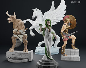 3D printable model Mythological Beings Pack 1